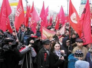 Ответственность организаторов демонстраций и митингов планируется ужесточить