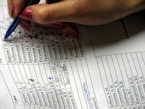 Гражданам не будет дано право знакомиться с избирательными списками