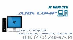 ARK Comp это компьютерный сревис помощи Воронеж