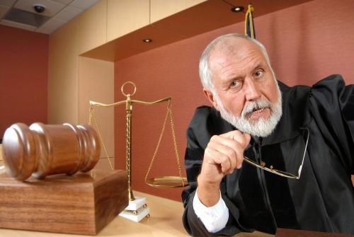 Как сделать отвод судье?