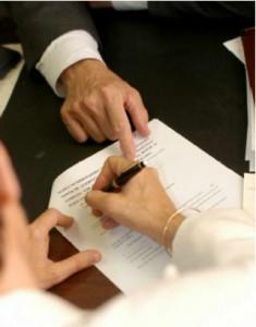Форма заявления о государственной регистрации