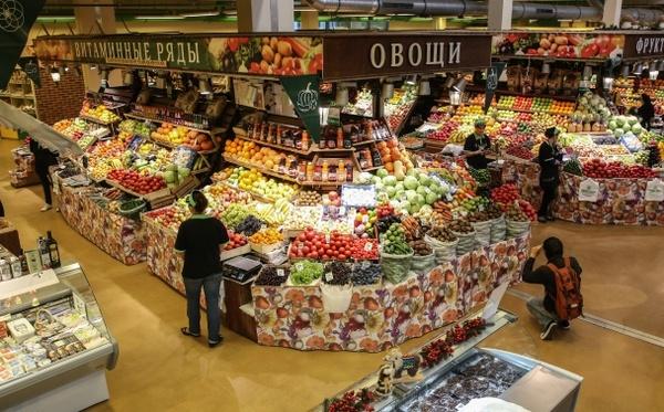 Запрет на ввоз продуктов в Россию